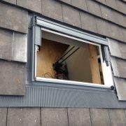 Velux dakraam met vlakke dakpannen - einresultaat - het Dakramen Gilde Nederland