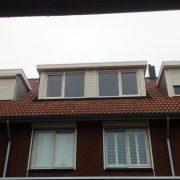 Dakkapel achterzijde Rhoon | 't Dakramen Gilde Nederland