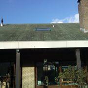 VELUX UK04 met bitumen singhles dakbedekking
